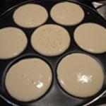 Ail des ours pancakes Cuire les pancakes