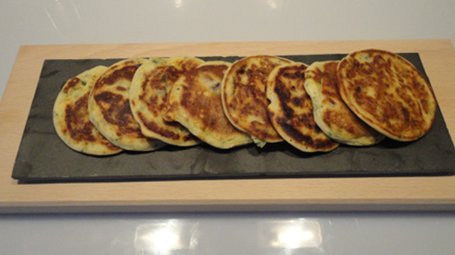 Ail des ours pancakes Terminer
