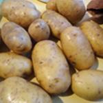 Parmentier de poulet Laver les pomme de terre