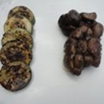 Rognon de veau au barbecue Rognon cuit