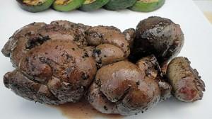 Recette de Rognon de veau au barbecue