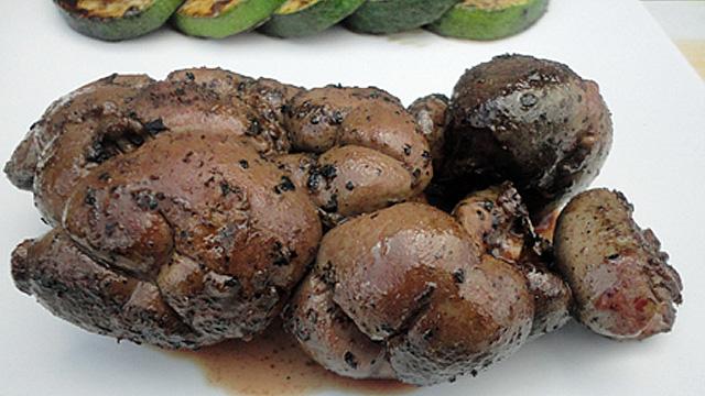 Rognon de veau au barbecue A déguster