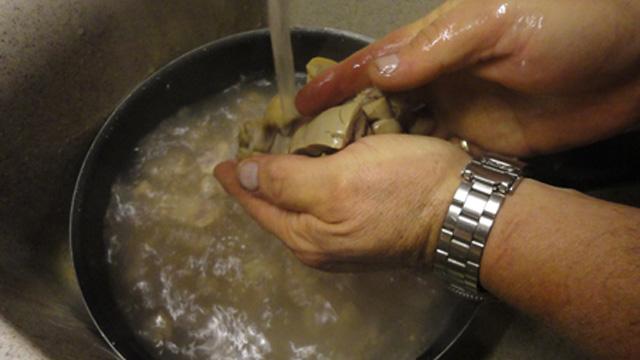 Préparation rognon de veau Supprimer toutes les impurtées