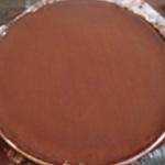 Tate au chocolat Tarte cuite
