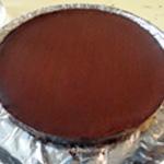 Tate au chocolat Saupoudrer de chocolat