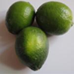 Zeste citron vert confit Rincer les citrons