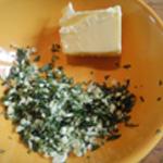 Blanc de seiche Ajouter le beurre