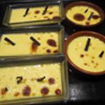 Crème brulée vanille Cuite