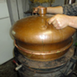 Distiller les mirabelles Le couvercle