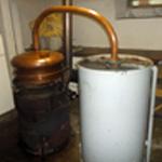 Distiller les mirabelles L'alambic chauffe