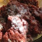 Lasagnes de boeuf Saler et poivrer la viande