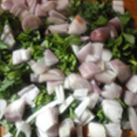 Lasagnes de boeuf Hacher persil et échalotes