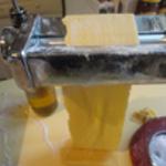 Lasagnes de boeuf Laminer la pâte