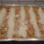 Lasagnes de boeuf Ajouter le parmesan