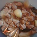 Pâté en croute aux airelles Macérer la viande