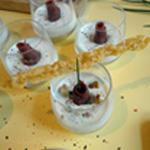 Panacotta Roquefort Baton de parmesan