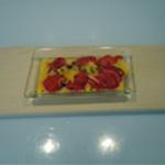 Sabayon de fraises Pret à cuire