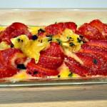Sabayon de fraises Terminer