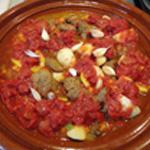 Tajine agneau Ajouter les tomates