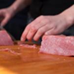 Carpaccio de veau Garder la viande bien fraiche