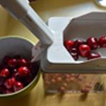 Mousse de cerise Rincer les cerises