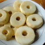 Poire au beurre Trancher les poires