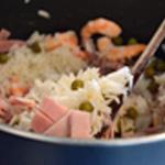 Riz Cantonnais Cuire le riz