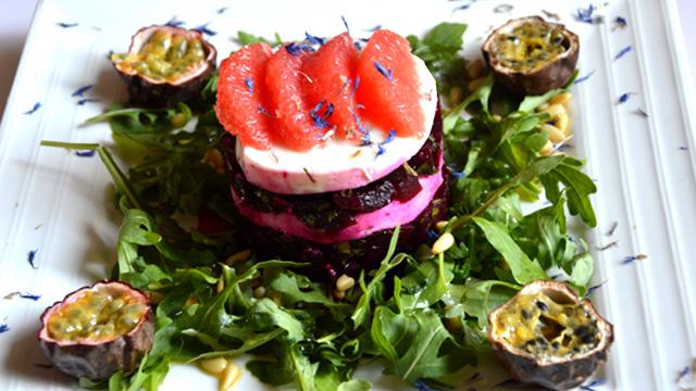 Salade de betterave rouge Terminer