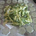 Salade de boeuf Ajouter la salade