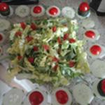 Salade de boeuf Ajouter les tomates