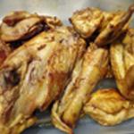 Tajine au poulet Poulet bien coloré