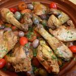 Tajine au poulet Terminer