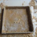 Tarte chocolat et noisettes