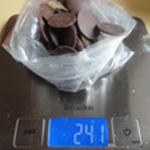 Tarte chocolat et noisettes Peser le chocolat