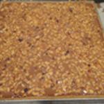 Tarte chocolat et noisettes Verser la préparation