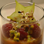 Verrine de fruits Carambole