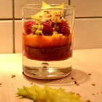 Verrine de fruits Termier