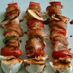 Brochettes marinées de poulet Brochettes à cuire