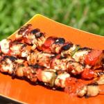 Brochettes marinées de poulet Terminer