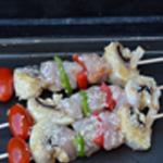 Brochette poulet sésame Cuire au barbecue