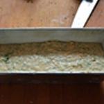 Cake au thon Remplir au 3/4 les moules