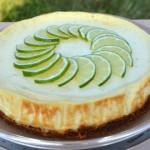 Cheesecake au citron vert Terminer