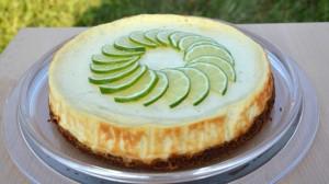 Recette de Cheesecake au citron vert