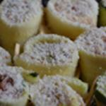 Courgettes et jambon Encore un peu de parmesan