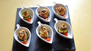 Recette de Courgettes et jambon