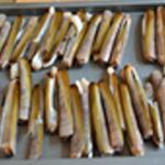 Couteaux au barbecue Ranger sur une plaque