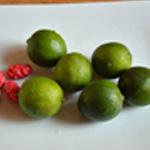 Mascarpone au citron Rincer les citrons