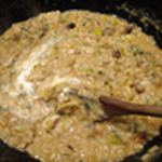 Risotto de gambas Cuire le riz