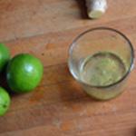 Sauce au citron Tirer le jus du citron