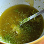 Sauce au citron Râper les zestes